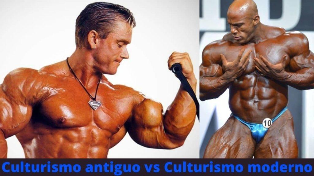 Culturismo antiguo vs Culturismo moderno